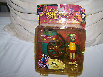 "The Muppet Show ""Gonzo the Great"" von Palisades Toy`s NEU & OVP / Series 2"