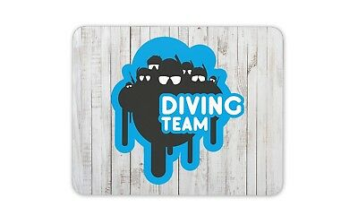 Computer PC Gaming Gift #4267 World Wide Scuba Scuba diving Mouse Pad Mat