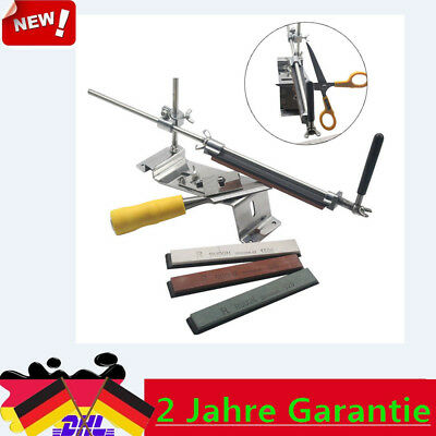 Küche Messerschleifer Messerschärfer Sharpener Fixed-Winkel mit 4 Schleifstein