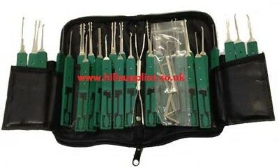 32PCS Professional KLOM Pick Locksmith Tool Set House & Car Locks Unlocking