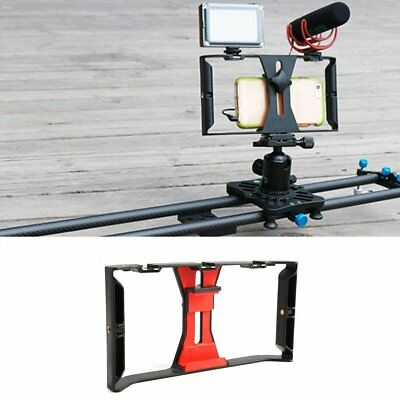 Video Camera Cage Stabilizer Film Making Rig For Smart Phone Video Rig Bracket S