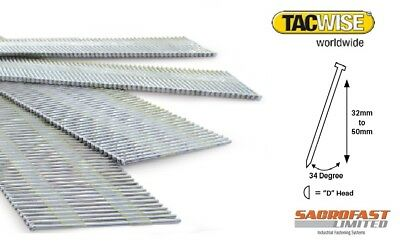 15 Gauge Da Type Angled Finish Nails By Tacwise