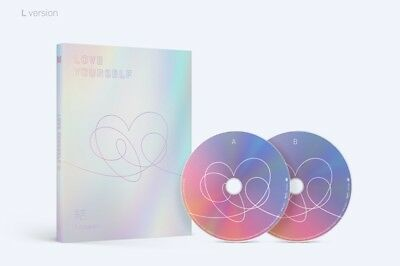 BTS 4th Album [LOVE YOURSELF 結'Answer] L Ver. CD+P.Book+M.Book+Photocard+Sticker