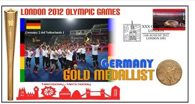 Germany 2012 Olympic Mens Hockey Gold Medal Cover