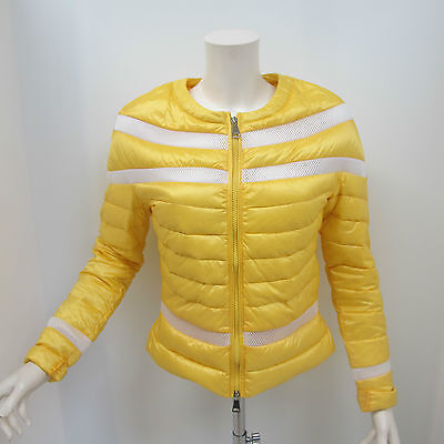 WITH LOVE giubbino donna mod.MARY col.GIALLO/BIANCO tg.L estate 2016