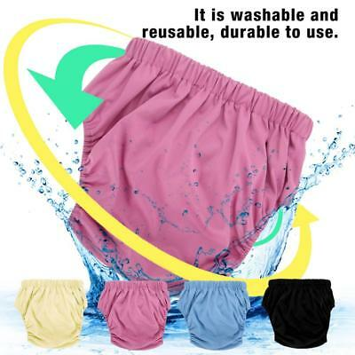 Teen Adult Cloth Diaper Nappy Reusable Washable Inserts Incontinence Old Age zy