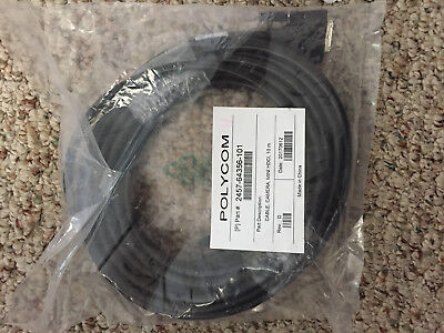 Polycom 2457-64356-101 HDCI to  Mini HDCI Camera Cable 10 meter New