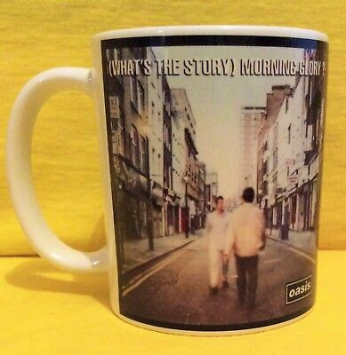 Oasis Whats The Story...morning Glory? 1995-Album Cover On A Mug.