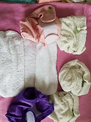 Used little lambs size 1 bamboo nappies. Free postage