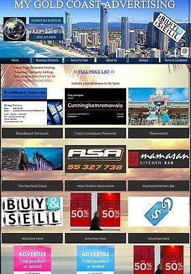 LOOK! Website Ready - Advertising Online Business For Sale. Earn Money