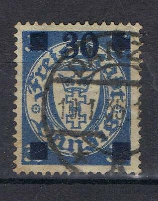 Danzig 1934 Surcharge 30 on 35pf SG 231 Used