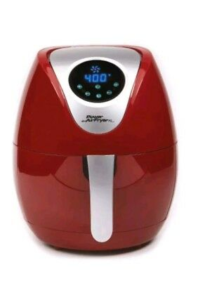 Power Air Fryer XL 5 Litre Digital Convection Air Fryer-Red (unit only)