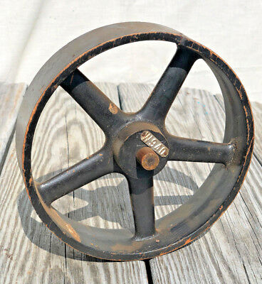 Vintage Industrial Foundry Mold Pattern Sand Casting Wheel Gear