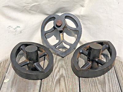 Lot of Vintage Industrial Foundry Mold Pattern Sand Casting Unusual Machinery