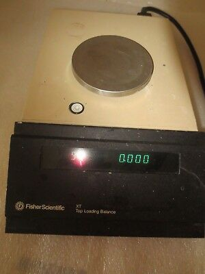 Fisher Scientific Xt-210  Top Loading Balance Scale