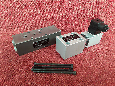 Wandfluh CETOP 3 NG6 Hydraulic Proportional Flow Control DNPFA06-A/B-25 #