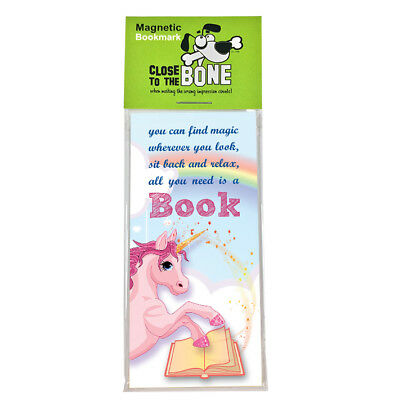 #633 MAGNETIC BOOKMARK Dr Seuss Quote funny present rude Any Occasion Gift
