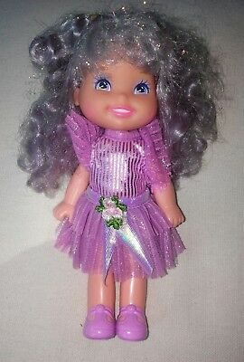 Adorable Vtg Mattel Cherry Merry Muffin Doll 80s 90s Scented Grape Ice Nice