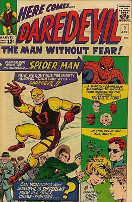 Daredevil over 500 issues on disc