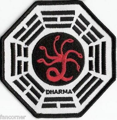 LOST ecusson Dharma Initiative Station Hydre Lost dharma hydra station patch