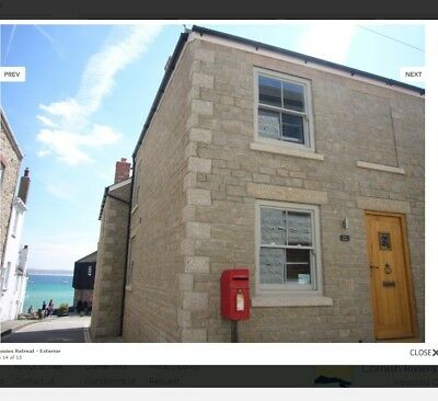 Friday 3rd August 7 nights luxury 2 bed Cottage in the heart of St Ives