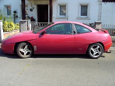Fiat coupe 20VT, rot, Bj. 07/1998,