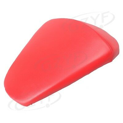 Motorcycle Rear Passenger Seat Cushion Pillion Fit KTM Duke 390 Red Soft Leather
