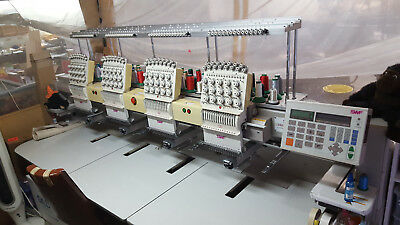 Swf Embroidery Machine 2002 model 1504