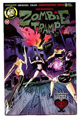 2018 Action Lab CGC 9.8 White Pages White Variant Zombie Tramp #49