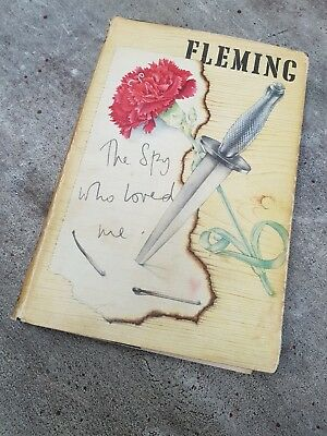 The Spy Who Loved Me by Ian Fleming - 1st Edition 6th Impression