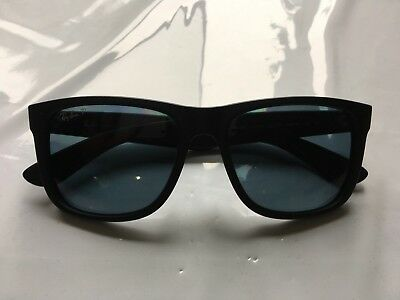 62141f28d3 RAY-BAN RB4165 622 T3 Justin Classic Black Frame Polarized Grey ...