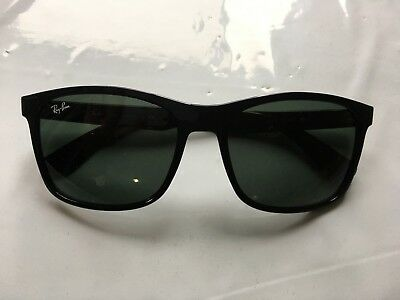 14cec88f52b AUTHENTIC RAY-BAN RB 4232 601 71 Black Green Classic Square ...