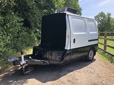 Suzuki Carry Refrigerated Trailer Project- RARE!