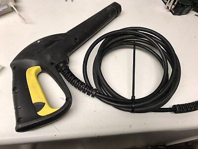 KARCHER K2 TRIGGER GUN AND 6m HOSE Screw Fitting K2 K3 K4