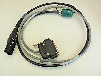 B/M RKN4042A Programming Test Cable for Motorola Astro Saber SI Rev G 3' Long