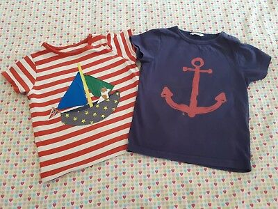 Baby Boden Boys Nautical Tshirts Age 12-18 Months
