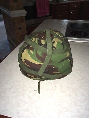 British Mk6 Helmet And Cover
