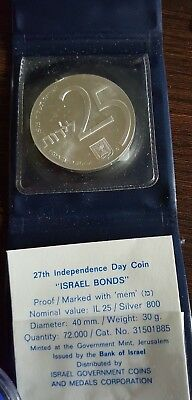 Israel Bonds - 27, th Independence Day Coin mit Bonus