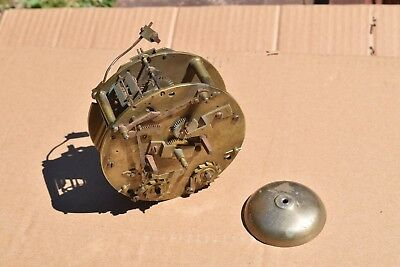 antique  small double fusee  clock movements
