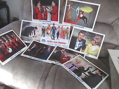 Set of 9 (11x14)  SCENES FROM NEVER A DULL MOMENT - Disney 1967 VanDyke