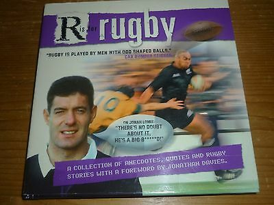 R Is For Rugby. Hardback Book. A Collection Of Rugby Stories