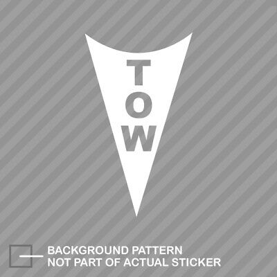 TOW arrow sticker decal custom sizes and colors autox auto cross SCCA ricer