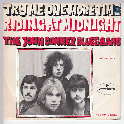 "THE JOHN DUMMER BLUES BAND // *Try Me One More Time* // 7"" //  Picturesleeve"
