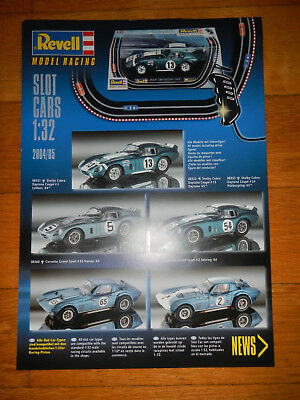 Revell Model Racing - Slot Cars 1:32 - 2004/05