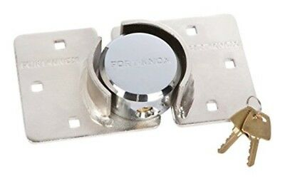 Fort Knox 77030 Shackleless Hasp Lock Set - Silver
