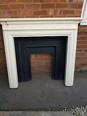 cast iron fireplace insert with free  Fire Surround
