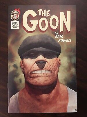 The Goon Color Special #1 Exploding Albatross Funny Books By Eric Powell