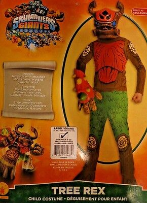 Skylanders Giants Tree Rex Halloween Child Costume Large Size 12-14 (ages 8- & SKYLANDERS WASHBUCKLER HALLOWEEN Costume Boys Large 10-12 - $13.99 ...