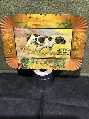 Young Jingo Pointer Dog Tip Tray Patterson Hardware Chesterhill, Ohio