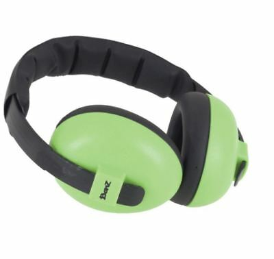 New Baby Banz Bubs Earmuffs Lime 3 Months -2 Years Free Express Shipping